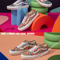 VANS x LIBERTY OLD SKOOL TAPERED★コラボ★花柄