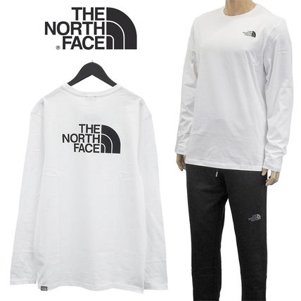THE NORTH FACE Tシャツ・カットソー THE NORTH FACE ロンT NF0A2TX1 L/S EASY TEE-FN4 WHITE