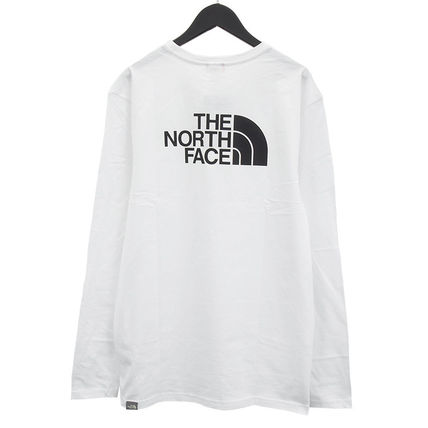 THE NORTH FACE Tシャツ・カットソー THE NORTH FACE ロンT NF0A2TX1 L/S EASY TEE-FN4 WHITE(2)