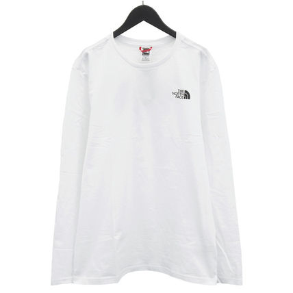 THE NORTH FACE Tシャツ・カットソー THE NORTH FACE ロンT NF0A2TX1 L/S EASY TEE-FN4 WHITE(3)