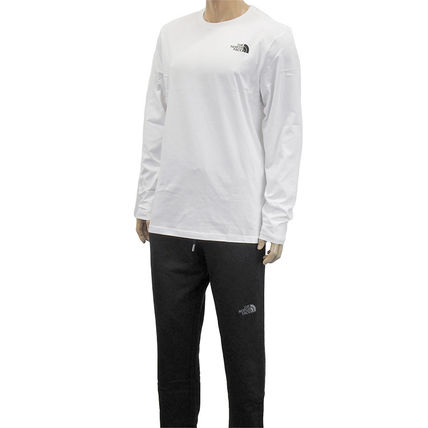 THE NORTH FACE Tシャツ・カットソー THE NORTH FACE ロンT NF0A2TX1 L/S EASY TEE-FN4 WHITE(4)