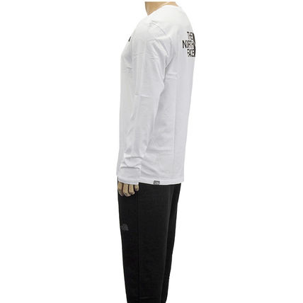 THE NORTH FACE Tシャツ・カットソー THE NORTH FACE ロンT NF0A2TX1 L/S EASY TEE-FN4 WHITE(5)