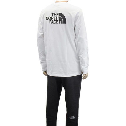 THE NORTH FACE Tシャツ・カットソー THE NORTH FACE ロンT NF0A2TX1 L/S EASY TEE-FN4 WHITE(6)