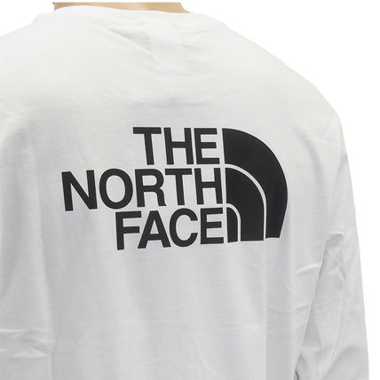 THE NORTH FACE Tシャツ・カットソー THE NORTH FACE ロンT NF0A2TX1 L/S EASY TEE-FN4 WHITE(7)