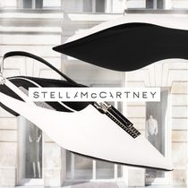 送料関税込★Stella McCartney Slingback with zip white