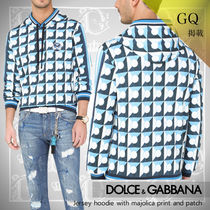 GQ掲載【DOLCE&GABBANA】21SS マヨリカプリント&パッチパーカー