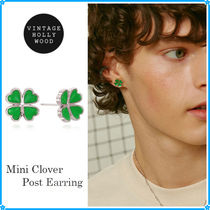 【VINTAGE HOLLYWOOD】Mini Clover Post Earring~ピアス★2021SS