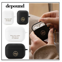 ◆depound◆ LOGO airpods / airpods pro ケース 全4種類