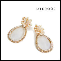 【Uterque】MOTHER OF PEARL AND SHELL EARRING