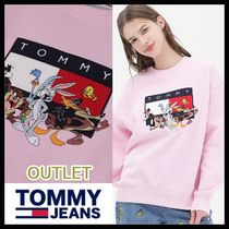 OUTLET☆Tommy Hilfiger☆Looney Tunes起毛トレーナー