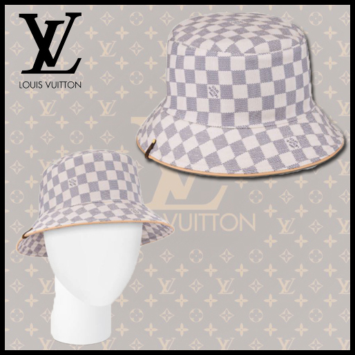 ★Louis Vuitton★ボブ・ダミエ アズール★バケットハット (Louis Vuitton/ハット) M76788  M76789