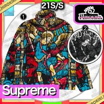 21SS/Supreme Saint Michael Fleece Jacket フリース ジャケット