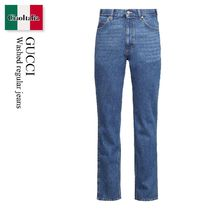 Gucci Washed regular jeans