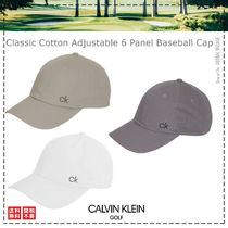 Calvin Klein Golf / 21SS / Classic Cotton Baseball Cap