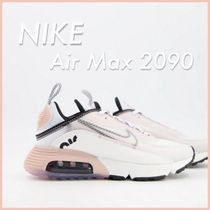 NIKE◆Air Max 2090 Trainers in off white and pink◆送料込