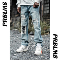 BANDED HEAVY DISTRESSED JEANS★ワンランク上のカジュアルStyle