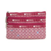 LeSportsac ポーチ 7158 F894 STAMPED WITH LOVE