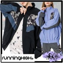 ★関税込★runningHIGH★FLOWER POINT RETRO TRACK JACKE.T★
