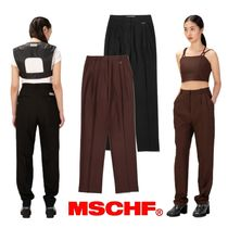 【MISCHIEF】21ss PROJECT MAGO_TAILORED PINTUCK TROUSERS