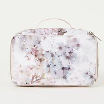 TED BAKER(テッドベーカー) メイクポーチ Ted Baker★花柄☆タフタ メイクポーチ