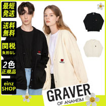 【GRAVER】heartboard embroidery knit cardigan