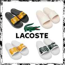 New☆【 Lacoste×Ricky Regal】Synthetic Crocodile Slides/4色