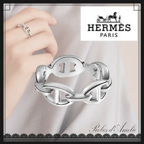 【HERMES】Chaine d'Ancre Enchainee/シルバーリング プチモデル