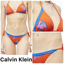 【Calvin Klein】SWIM TOP & STRING SIDE TIE/ビキニセット