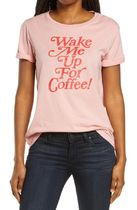 Wake Me Up for Coffee Classic Graphic Tee