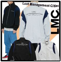 ★送料・関税込★LMC★LMC OVERSIZED ZIP UP SWEAT JACKE.T★