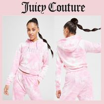 【JUICY COUTURE】タイダイ柄ベロアジョガーセットアップ