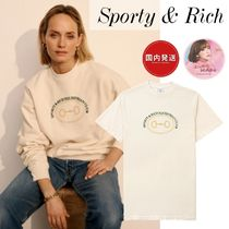 関税送料込★Sporty & Rich★Equestrian Club ロゴT