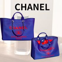 CHANEL バッグ ショッピング トート ロゴ チェーン 2WAY 限定 ♪