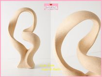 関税送料込【Anthro】Abstract Twist Decorative Object
