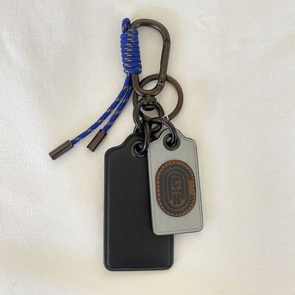 【COACH】Key Fob With Coach Patch
