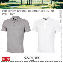 Calvin Klein Golf / 21SS / Monogram  UV 30+ Polo Shirt