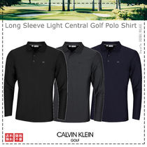 Calvin Klein Golf / 21SS / Long Sleeve Golf Polo Shirt