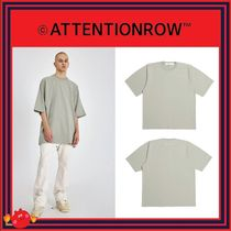 ATTENTIONROW(アテンションロー) Tシャツ・カットソー [ATTENTIONROW]Shoulder Liner Overfit Short Sleeve Tee/追跡付