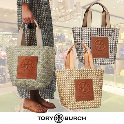 大人気!【Tory Burch】Small Basketweave Nylon トート