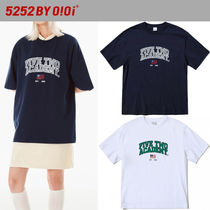 ★2021SS新作★5252 by oioi★FIVETWO ACADEMY T-SHIRTS_2色