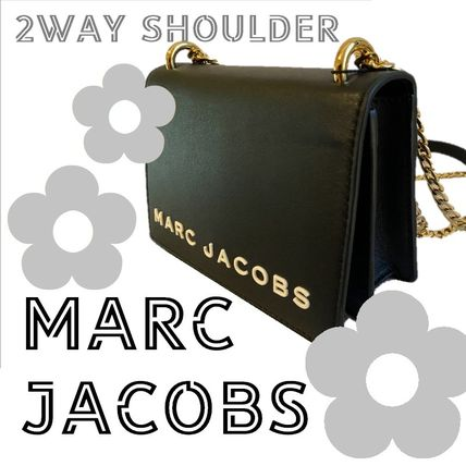 MARC JACOBS マークジェイコブスDOUBLE TAKEショルダーバッグ黒