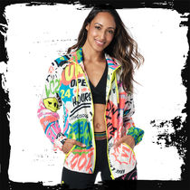 ◆4月新作◆ユニセックス◆ Zumba Original Pop Zip-Up Jacket