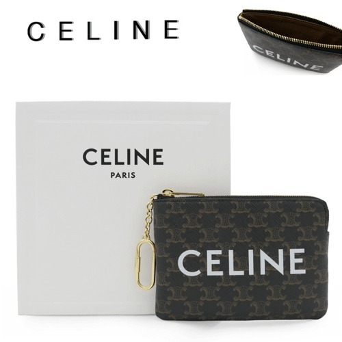 CELINE(セリーヌ)正規品/送料関税込み COIN & CARD POUCH (CELINE/コインケース・小銭入れ) 10C662CA2 38NO