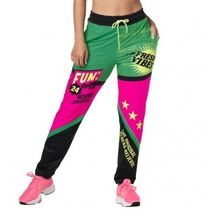 ★国内在庫★ ズンバ Zumba Pop Track Pants Kelly Green