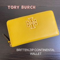 TORY BURCH★BRITTEN ZIP CONTINENTAL 長財布