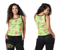 新作♪Zumbaズンバ Have A Nice Dance Jersey Tank - Caution