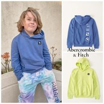 Abercrombie & Fitch(アバクロ) キッズ用トップス Abercrombie & Fitch ☆ 新作商品!! ☆ ロゴパーカー 2色!!