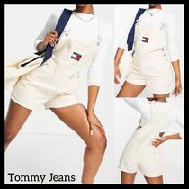 Tommy Jeans ダンガリーショートパンツ サロペット 送料込