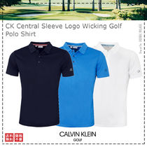 Calvin Klein Golf / 21SS / CK Central Sleeve Logo Polo Shirt