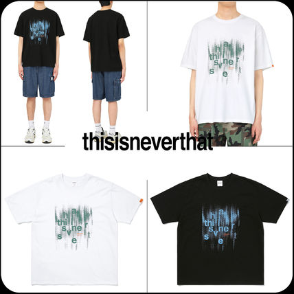 [Thisisneverthat]★韓国人気★Brushed Paint Tee